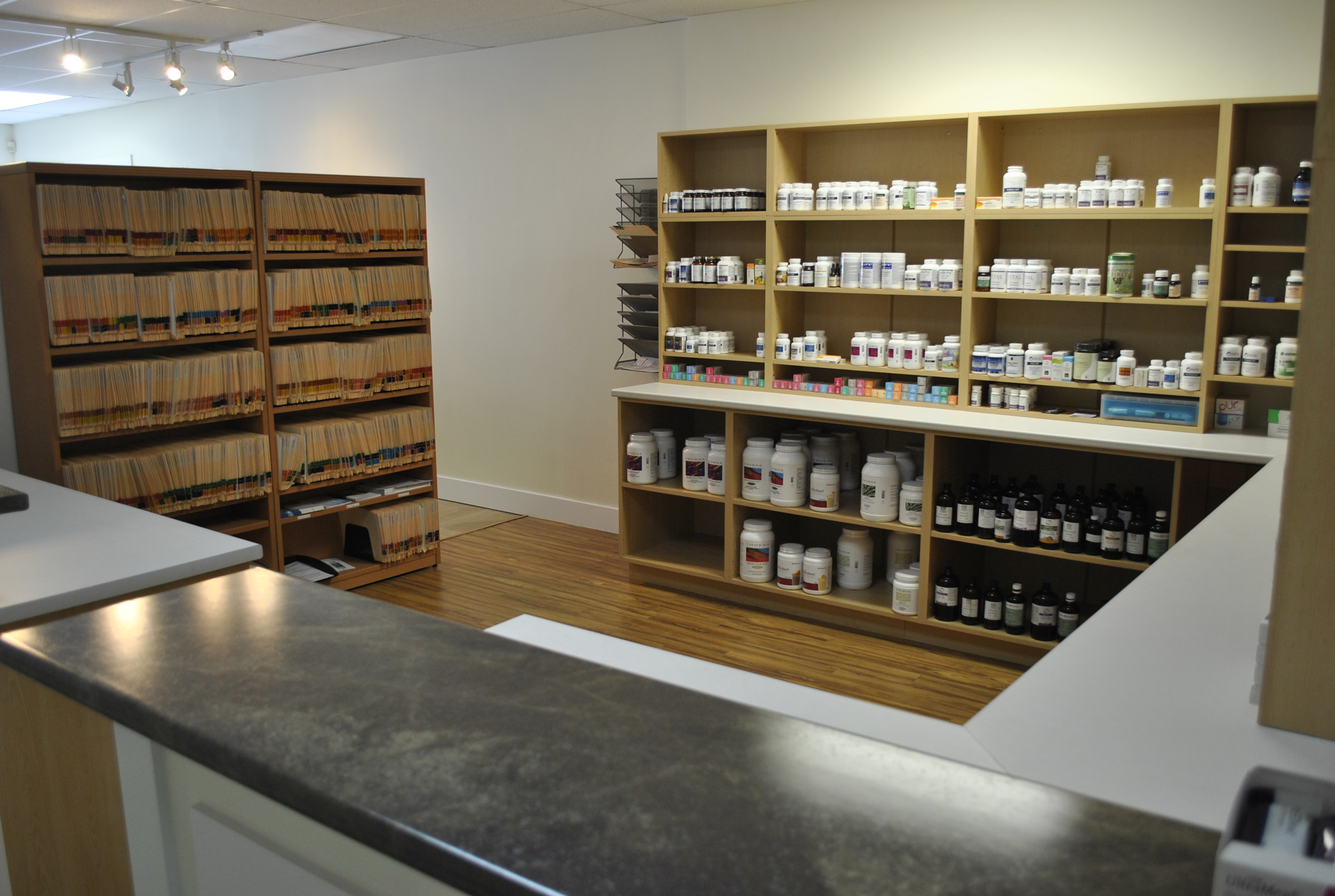 Dispensary - Moncton Naturopathic